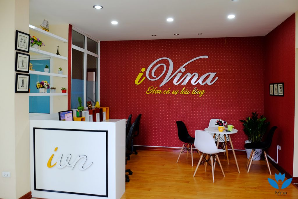 Liên hệ - iVina Education. Tell: 0911 177 988. Email: info@ivina.edu.vn