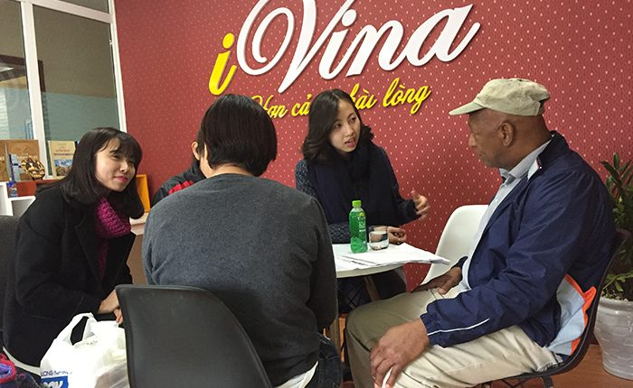 Free vietnamese class at iVina