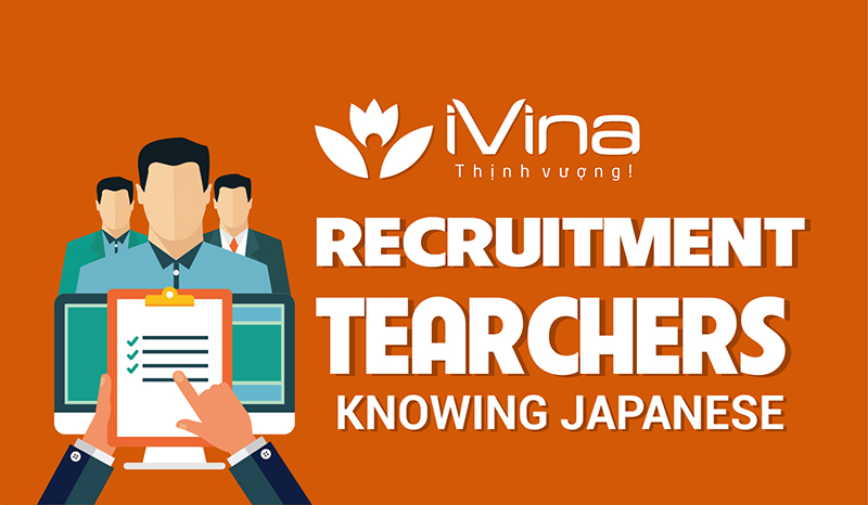 recruits teachers knowing Japanese