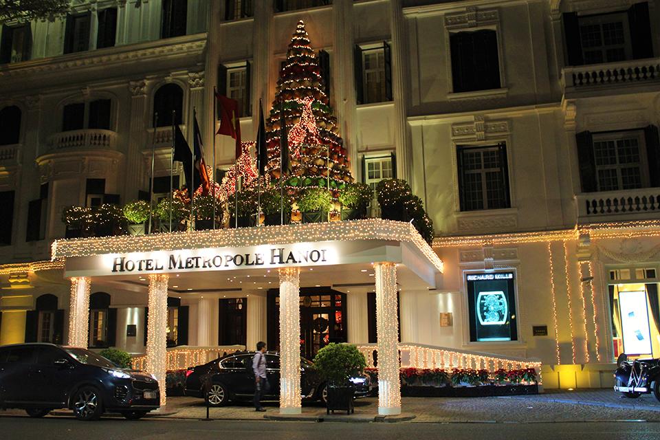 Địa điểm chơi Noel 2017 - Khách sạn Metropole 3