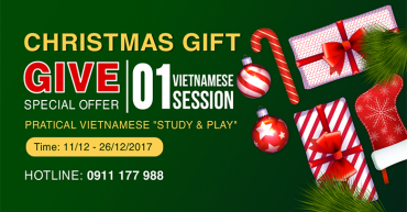 2017 Christmas Gift - iVina Edu - Teaching Vietnamese for Foreigners