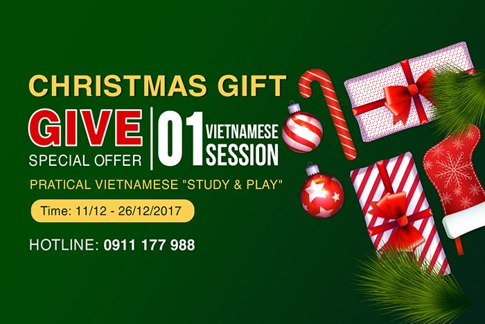 2017 Christmas Gift - iVina Edu - Teaching Vietnamese for Foreigners