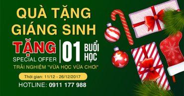 Chương trình Quà Tặng Giáng Sinh 2017 - iVina Edu