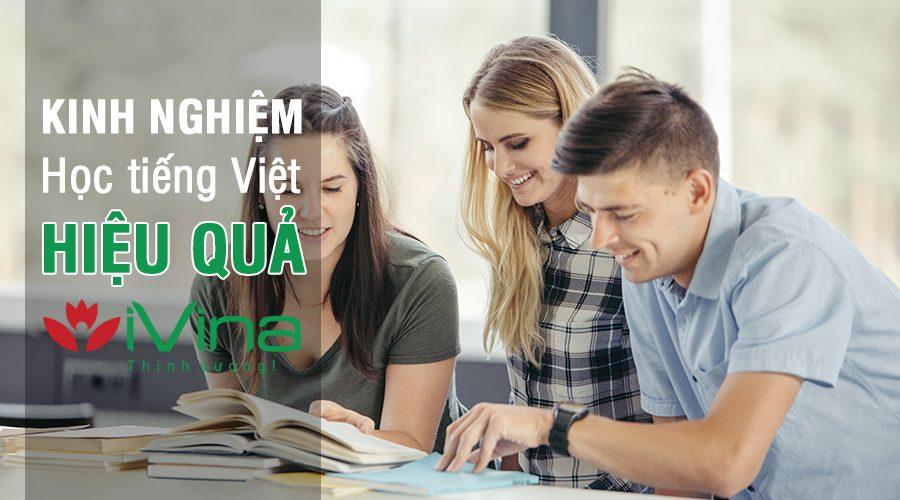 Kinh nghiệm học tiếng Việt hiệu quả