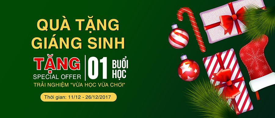 Noel_Chương trình Quà tặng giáng sinh 2017 - iVina Edu